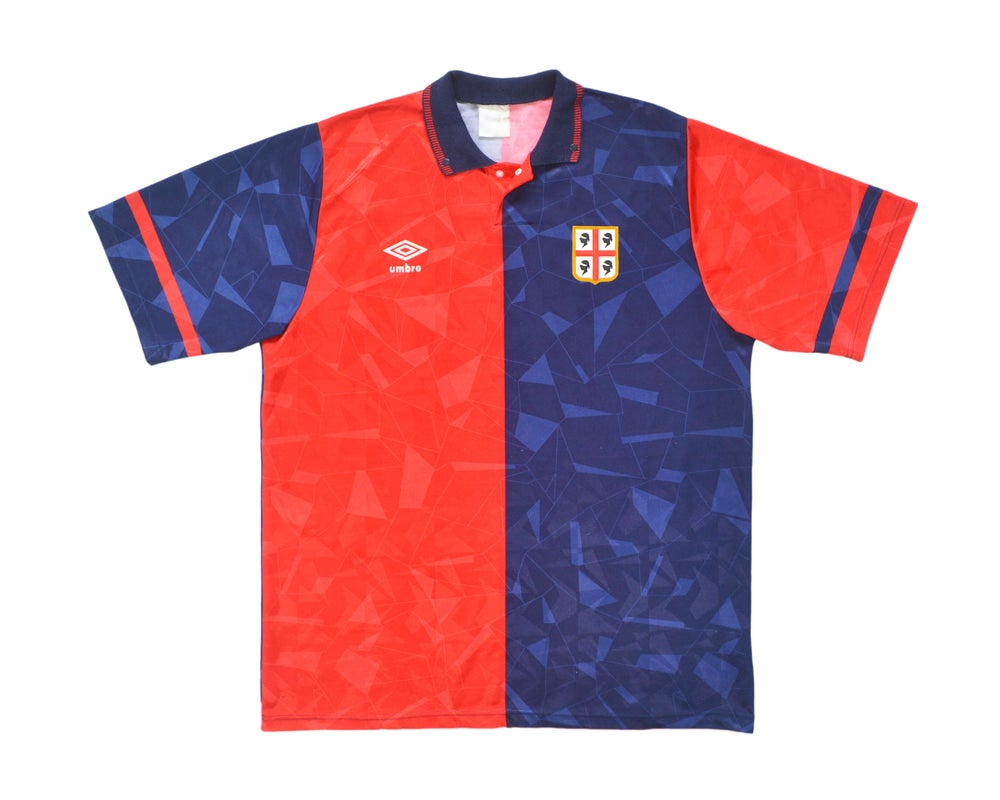 Image of 1990-92 Umbro Cagliari Home Shirt XL