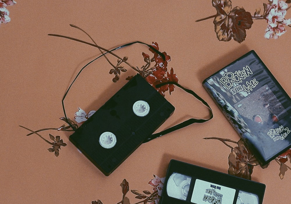 Image of 'Broken VHS Tape' VHS Tape