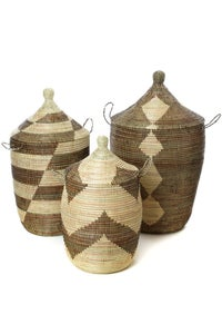 Image of Large Lidded Basket