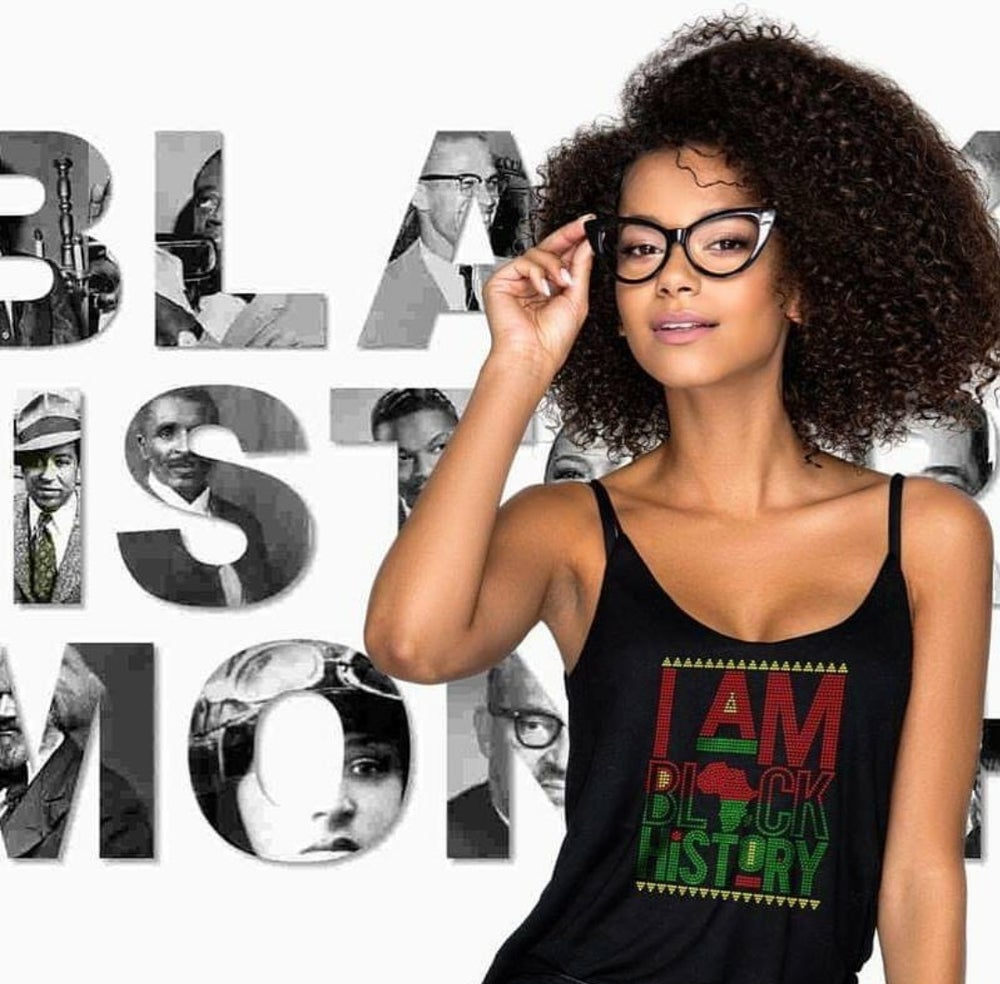 "Image of ""Sparkling"" I Am Black History"
