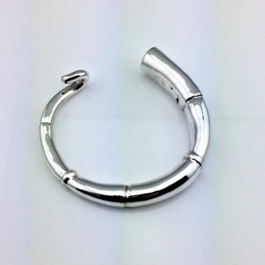 Image of SILVER TENDRIL CUFF BRACELET 02