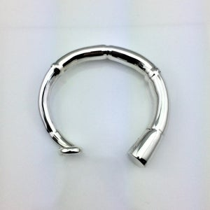 Image of SILVER TENDRIL CUFF BRACELET 03