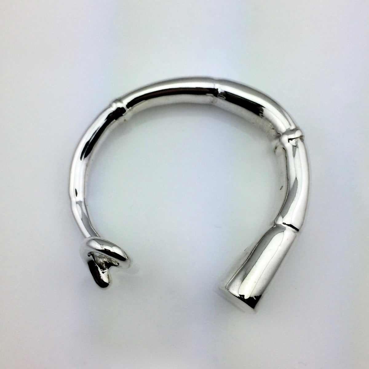 Image of SILVER TENDRIL CUFF BRACELET 04