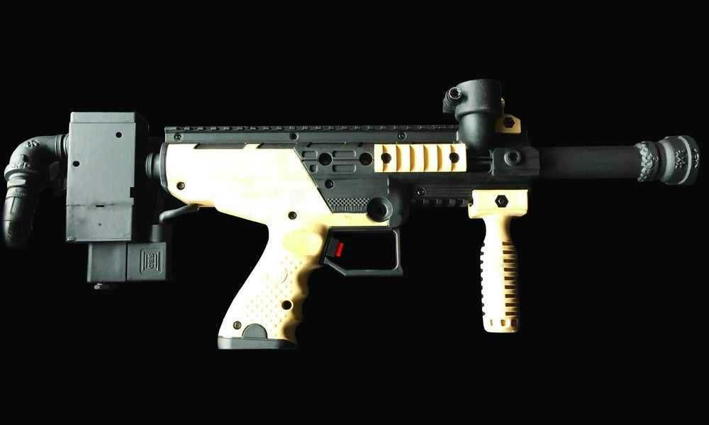 Image of Pneumatic Rapid Fire Handheld Blaster