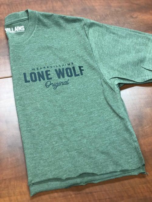 Image of Lone Wolf loose crop tee