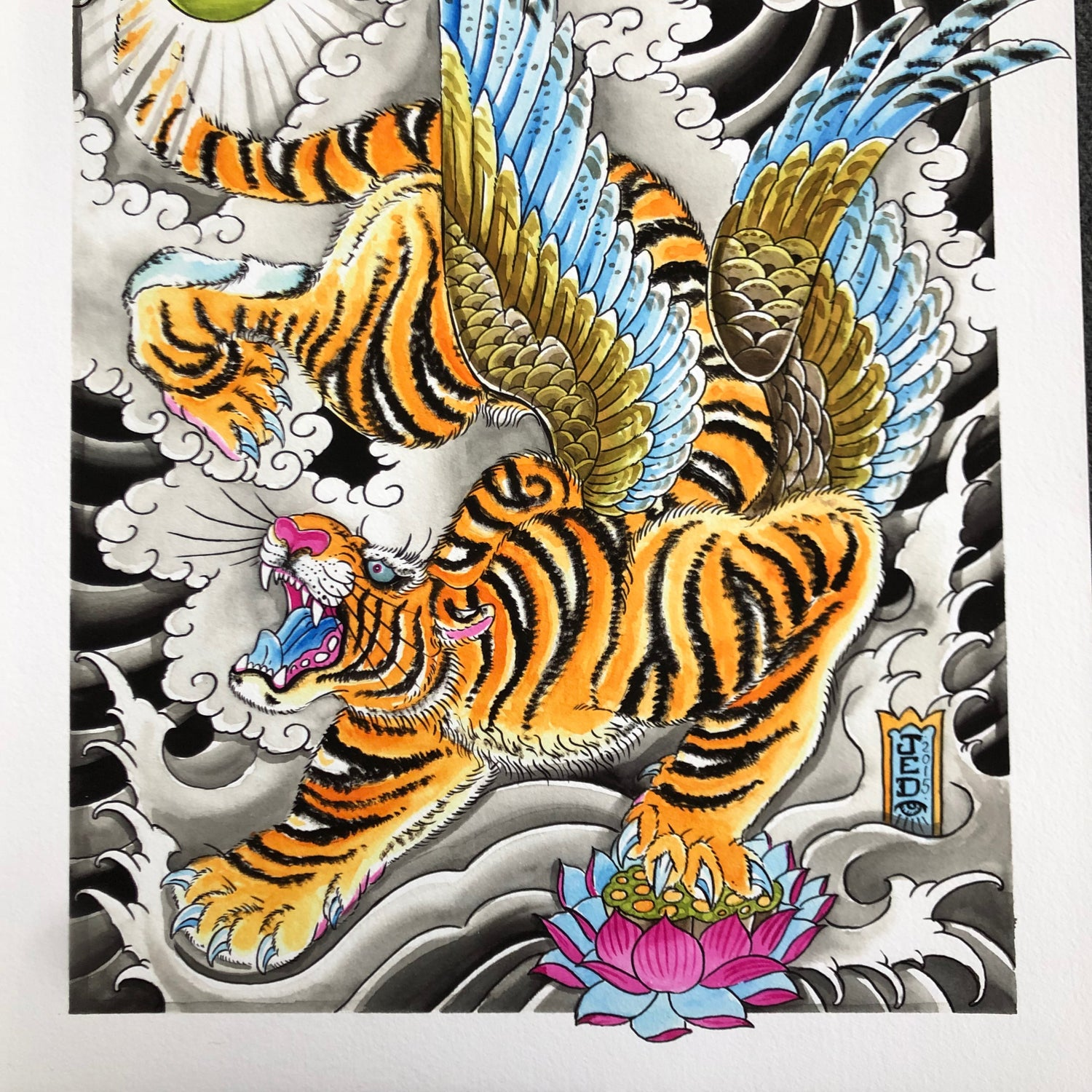 Image of FLYING TIGER GICLEE