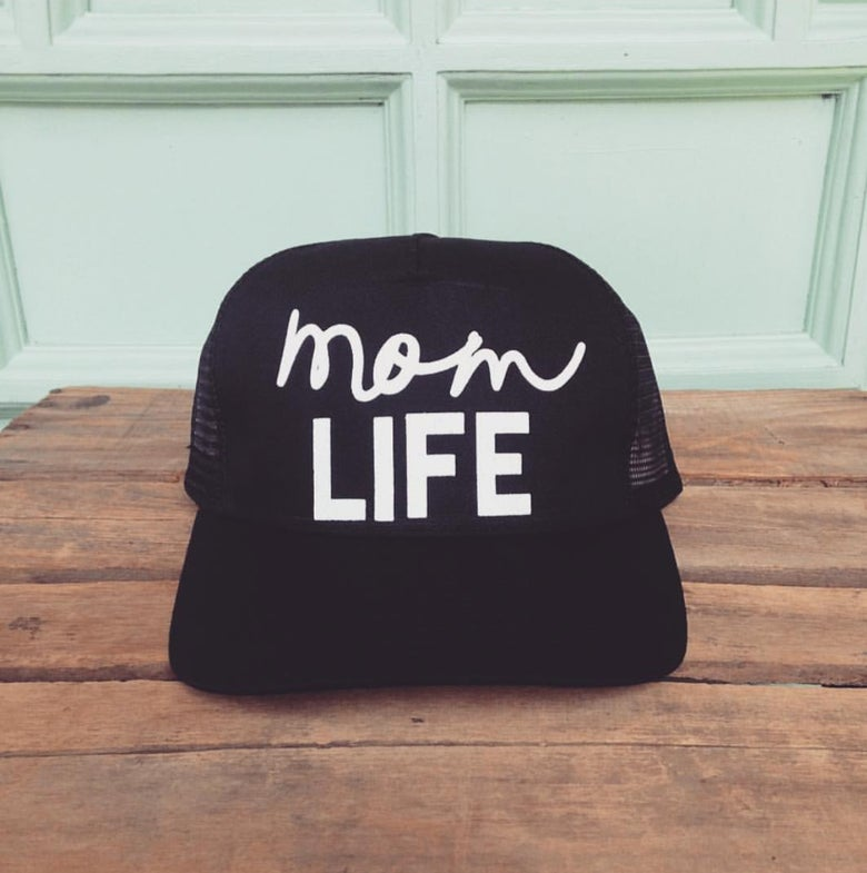 Image of Mom life trucker