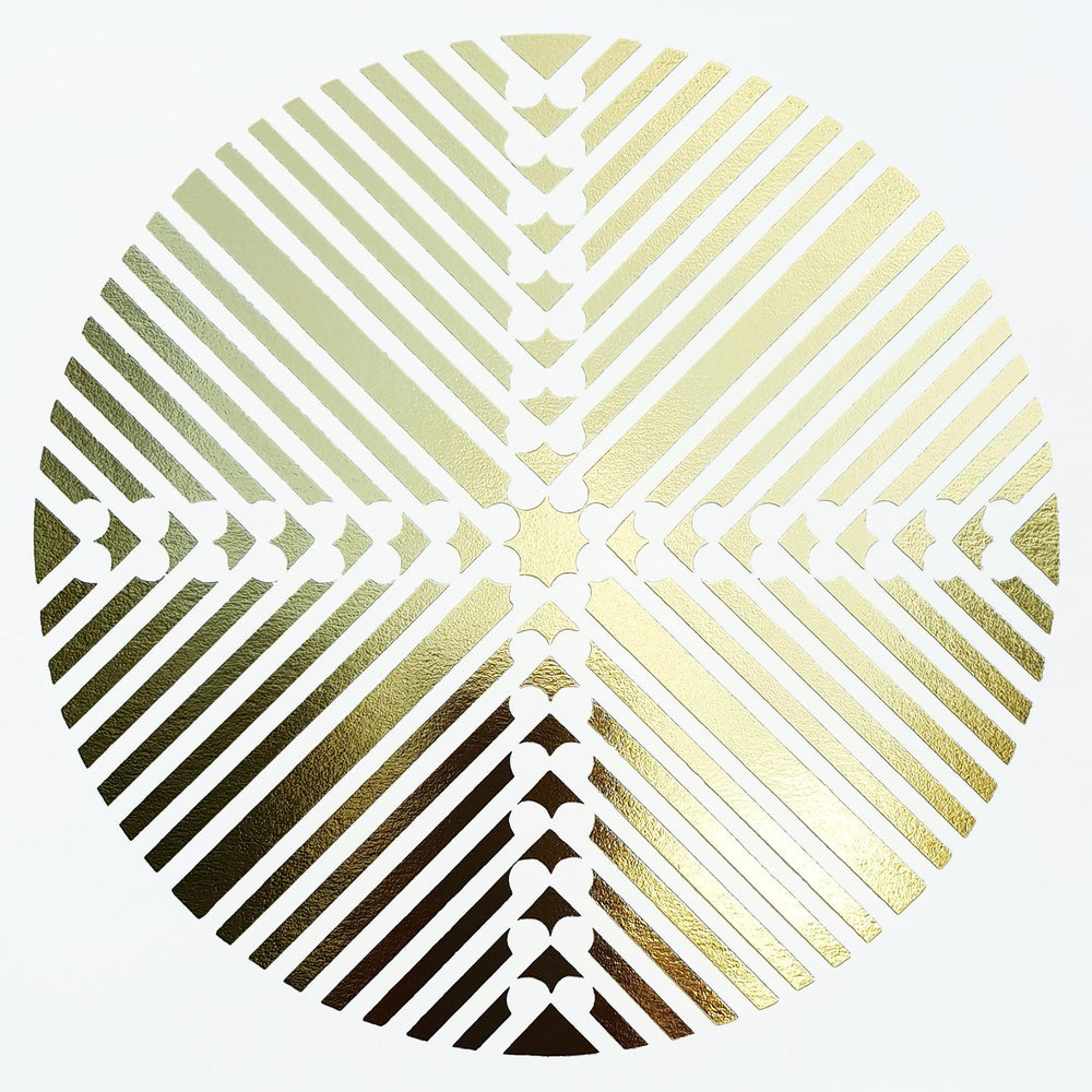 Image of 'Take Flight' Limited Edition GOLD OR COPPER Screenprint