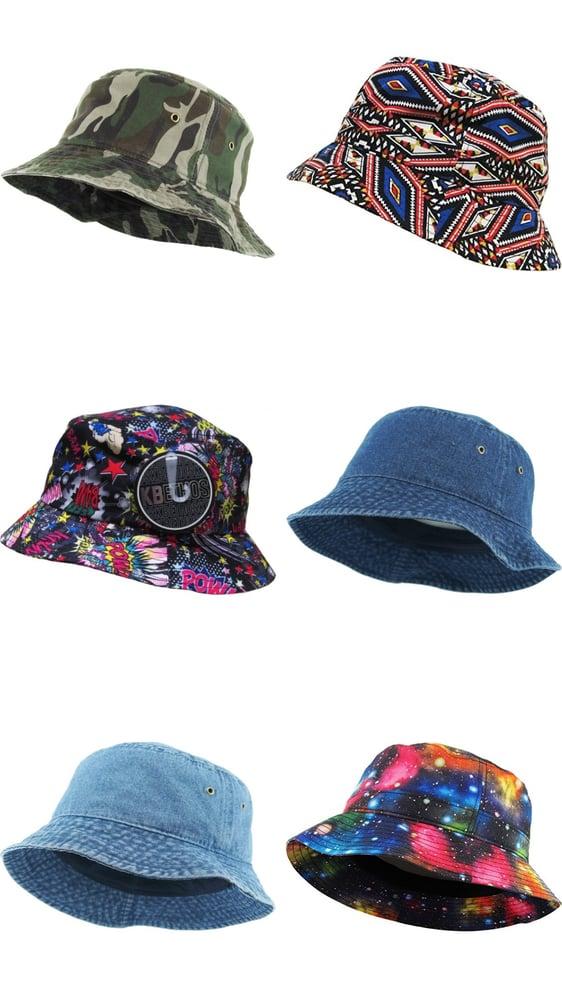 Image of Gorros - Hat Buckets - Estilo 90s