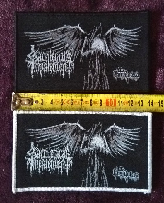 Image of Sacrilegious Impalement - III Lux Infera patch