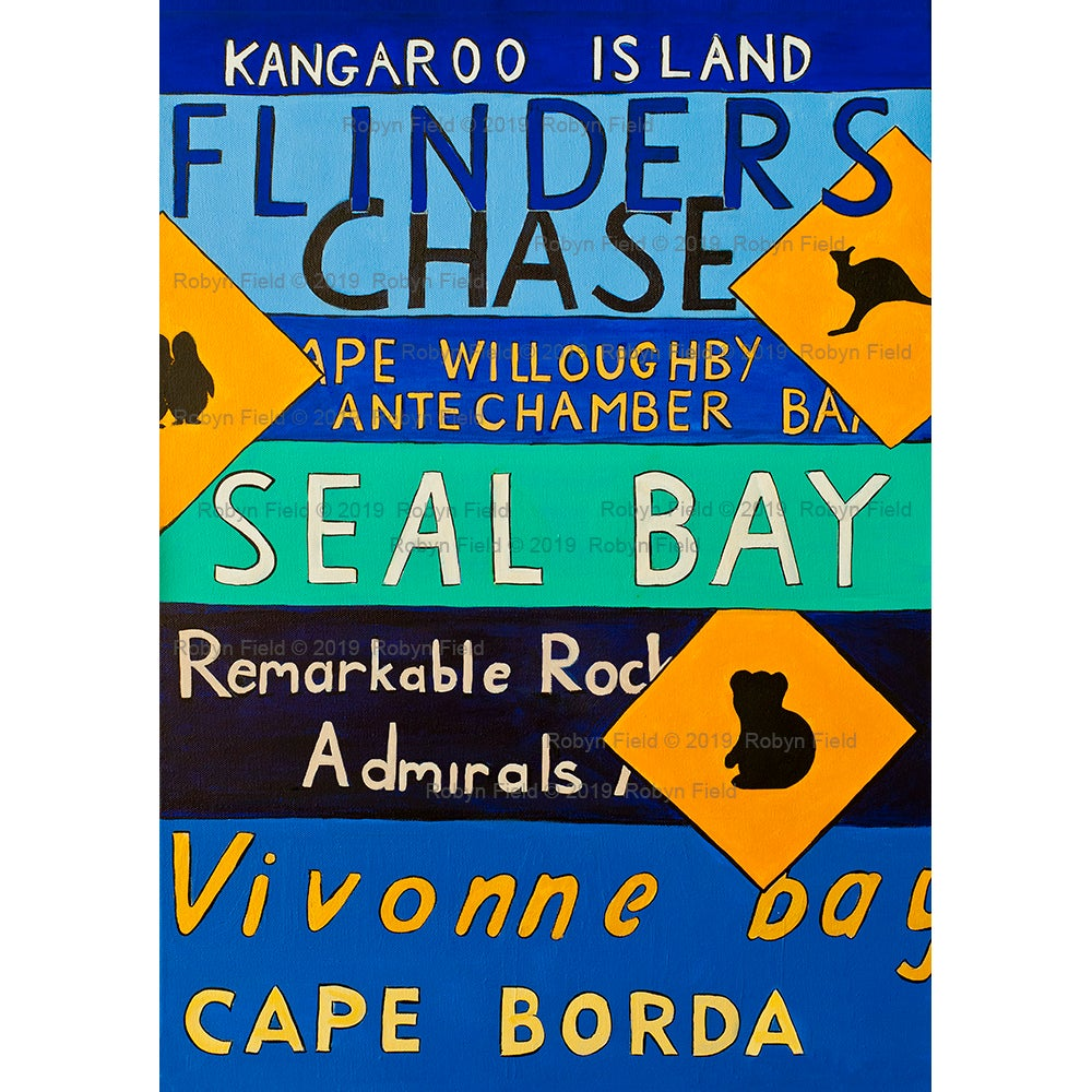 Image of Kangaroo Island Artwork Print - Highlights