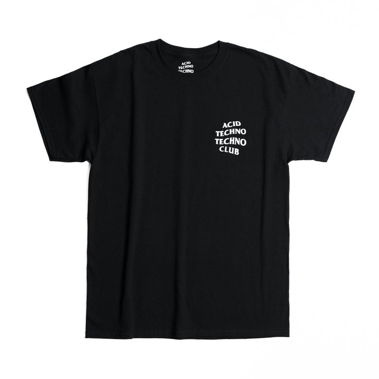 Image of Acid Techno Techno Club LOGO T SHIRT