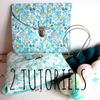 Combo de pochettes pour tricoteuse: 2 tutoriels à prix sérré