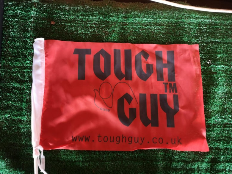 Image of Tough Guy Car Flag