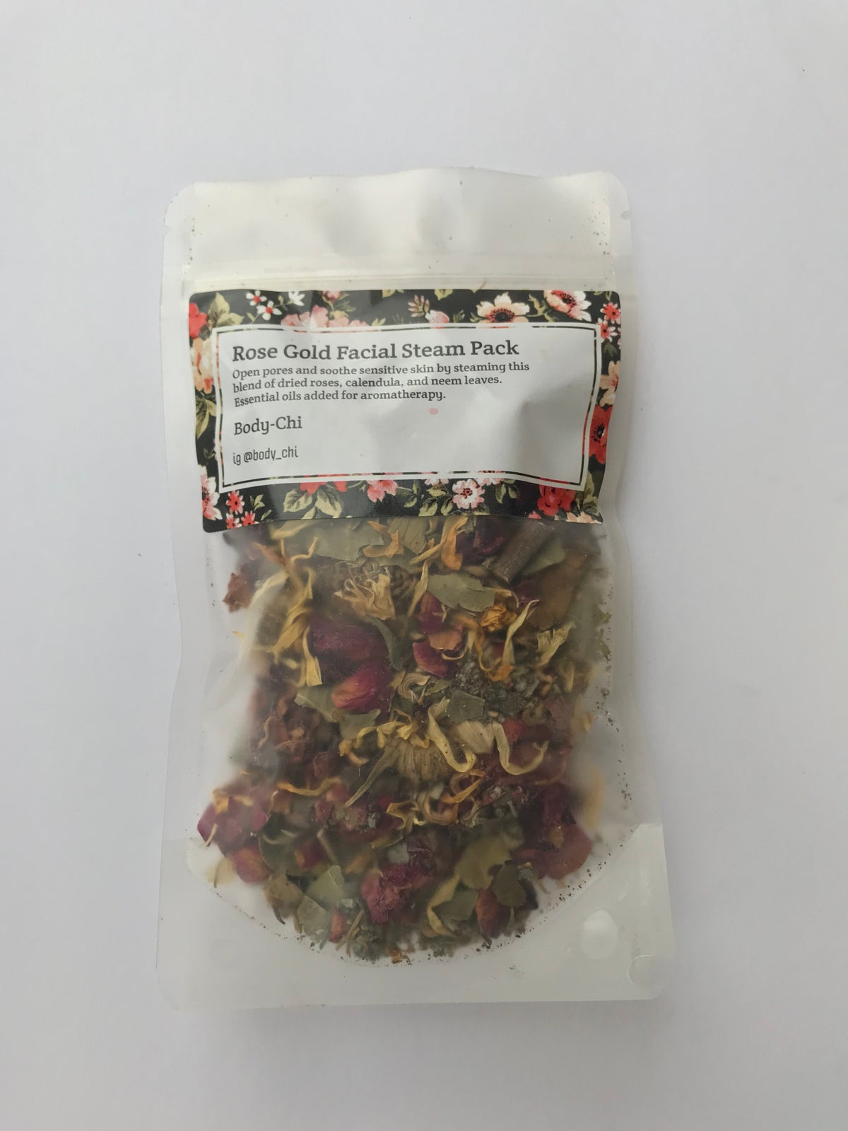 Image of Rose Gold Facial Steam Pack