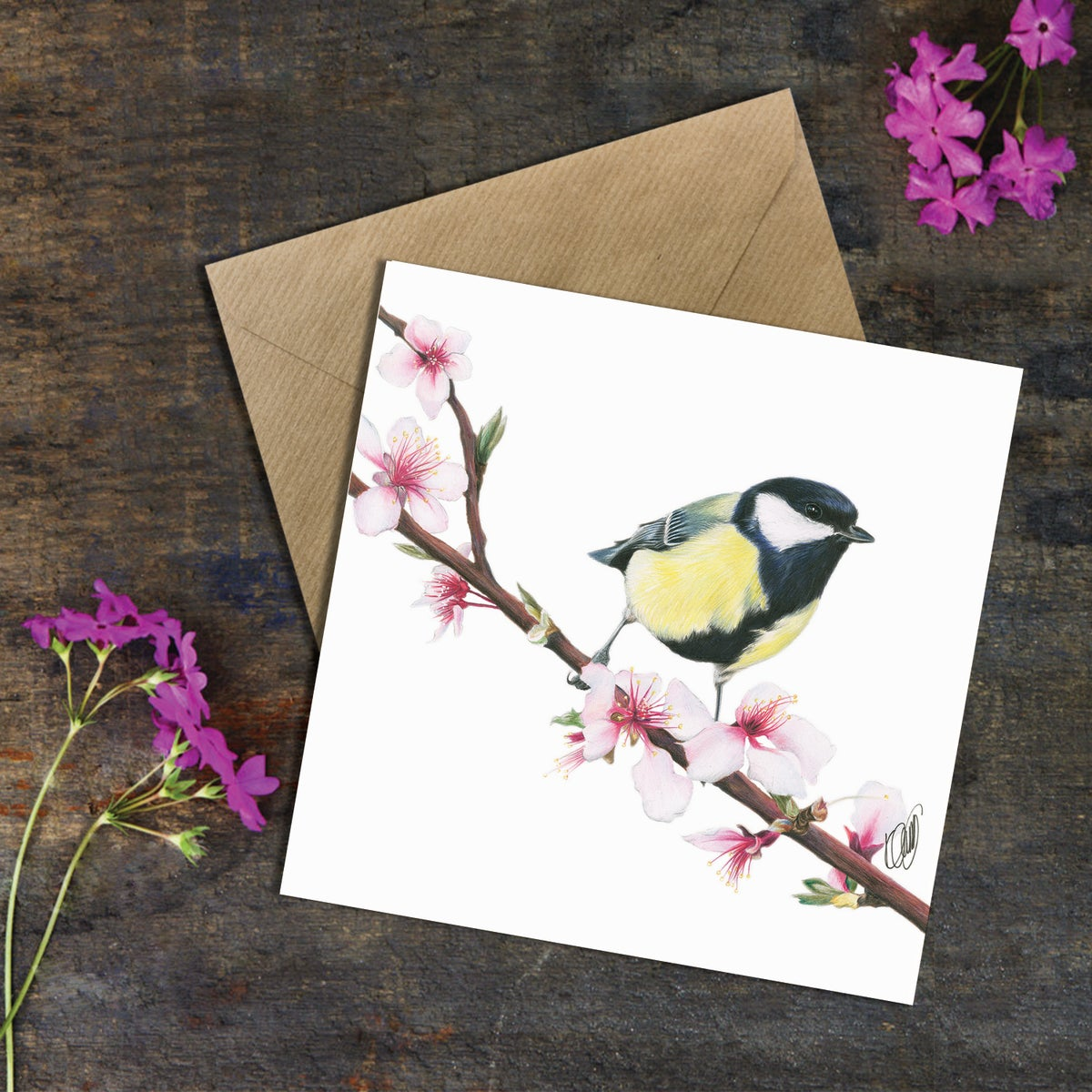 Image of 'Great Tit' Greeting Card