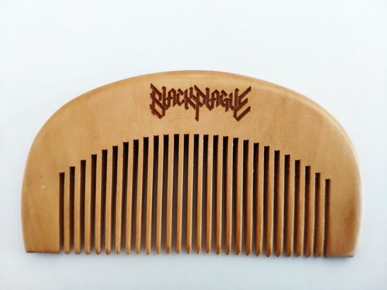Image of Black Plague Beard Comb