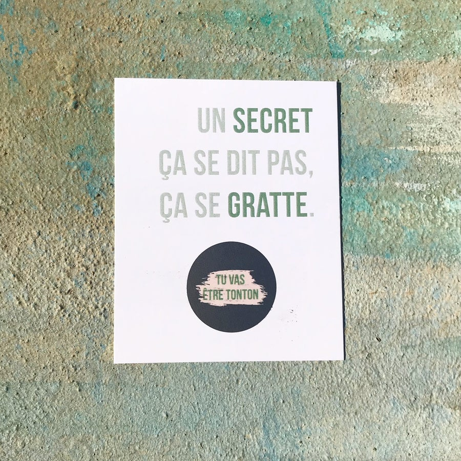 Image of Un secret... (Tonton)
