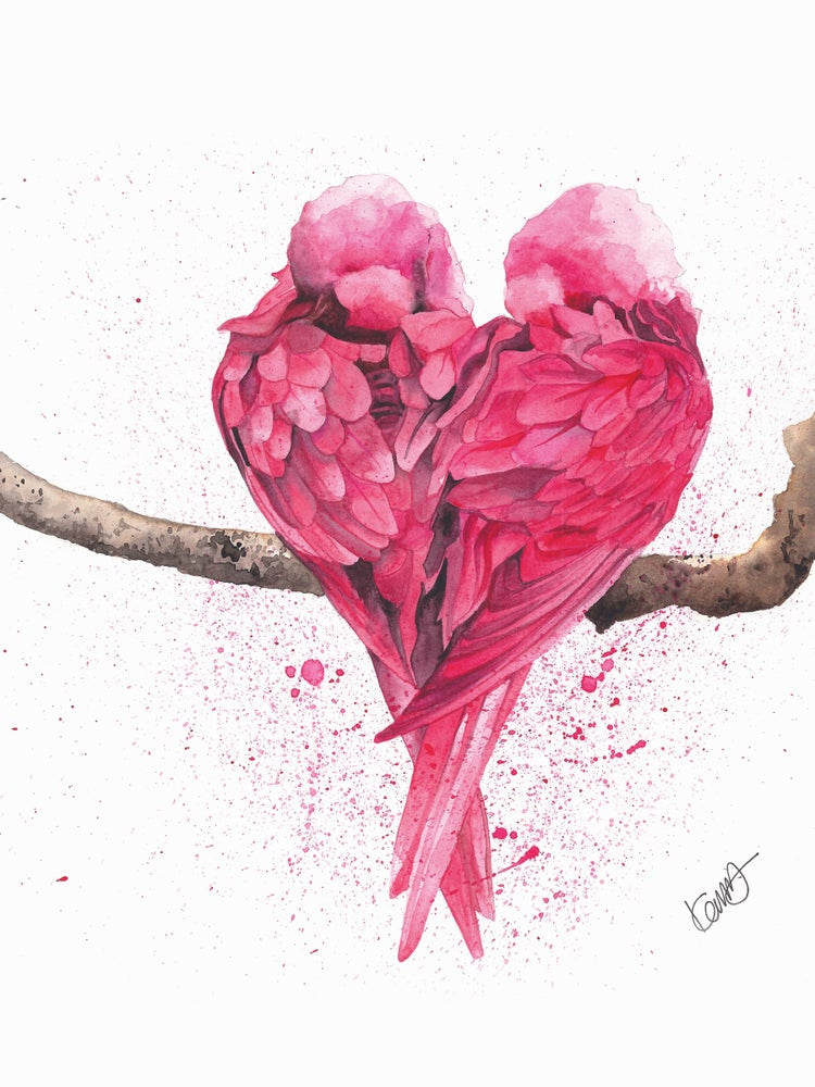 "Image of ""Love Birds"" Limited Edition Print"