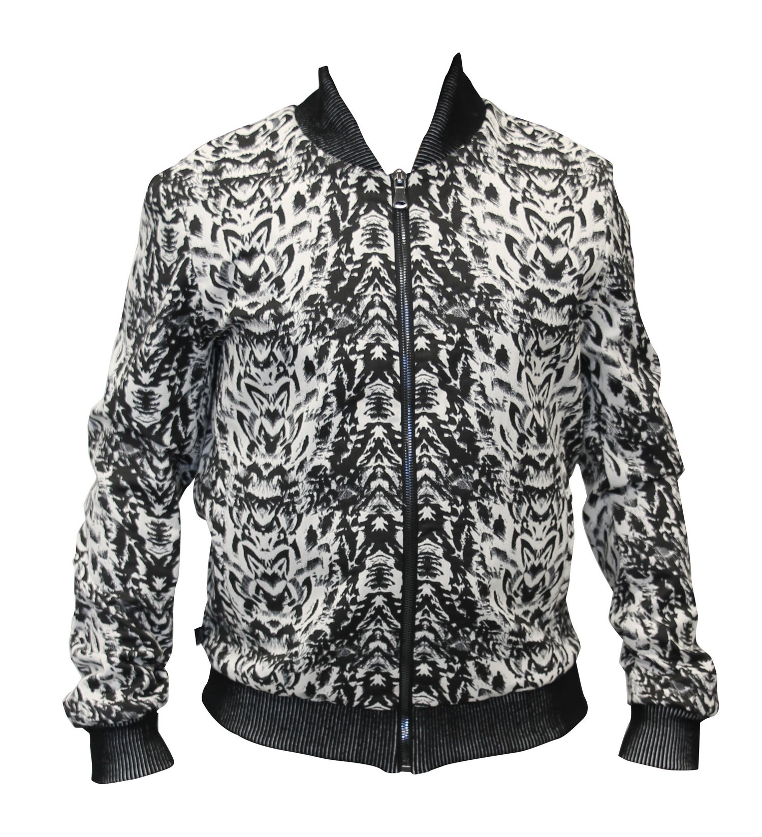 Image of Animal Jacquard Bomber