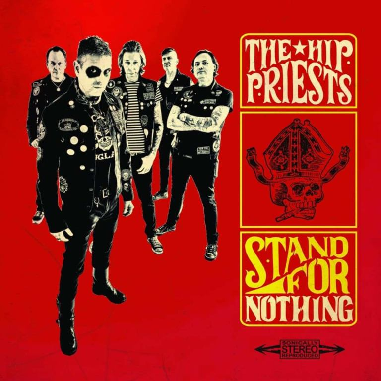 Image of The Hip Priests 'Stand For Nothing' Beer/Blood split vinyl lp 80 MADE 20 left