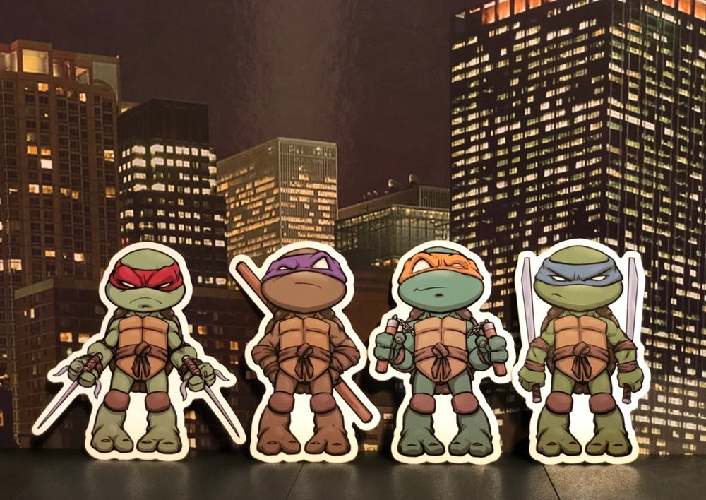 Image of Four Brothers Premium Sticker Pack!