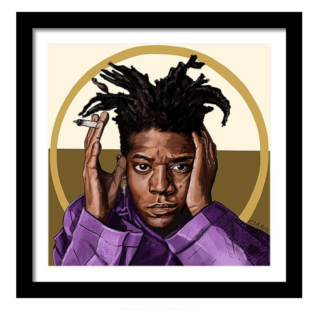 """Image of """"Jean Michel Basquiat"""" Limited Edition Prints"""