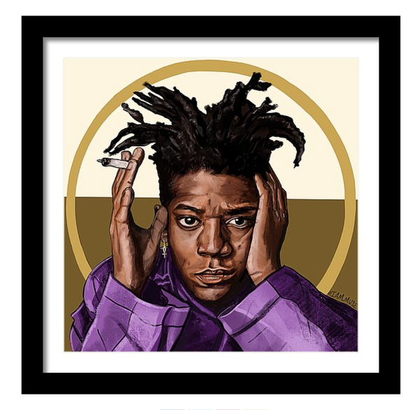 "Image of ""Jean Michel Basquiat"" Limited Edition Prints"