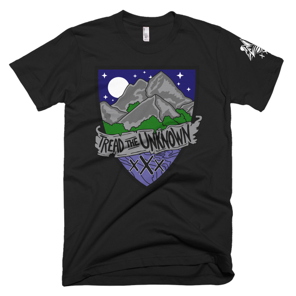 "Image of Tread The Unknown ""NightFall"" tee"
