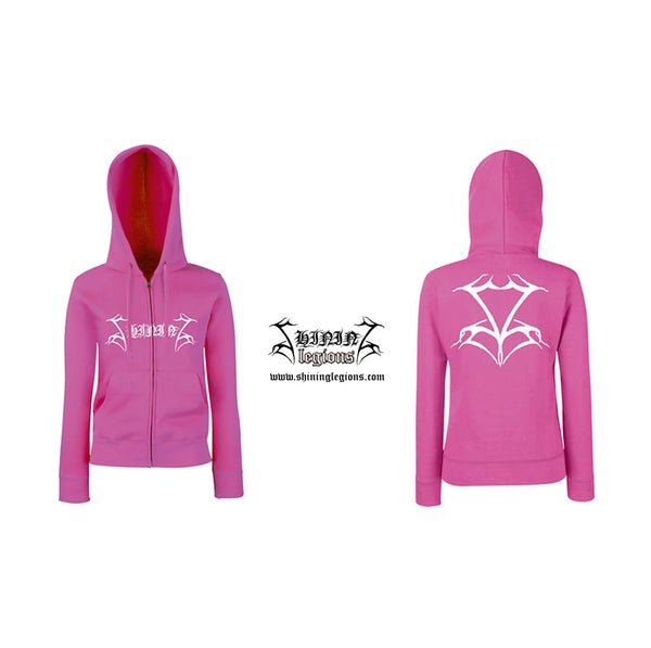 "Image of SHINING ""Pink Perdition"" GIRL ZIPHOOD"