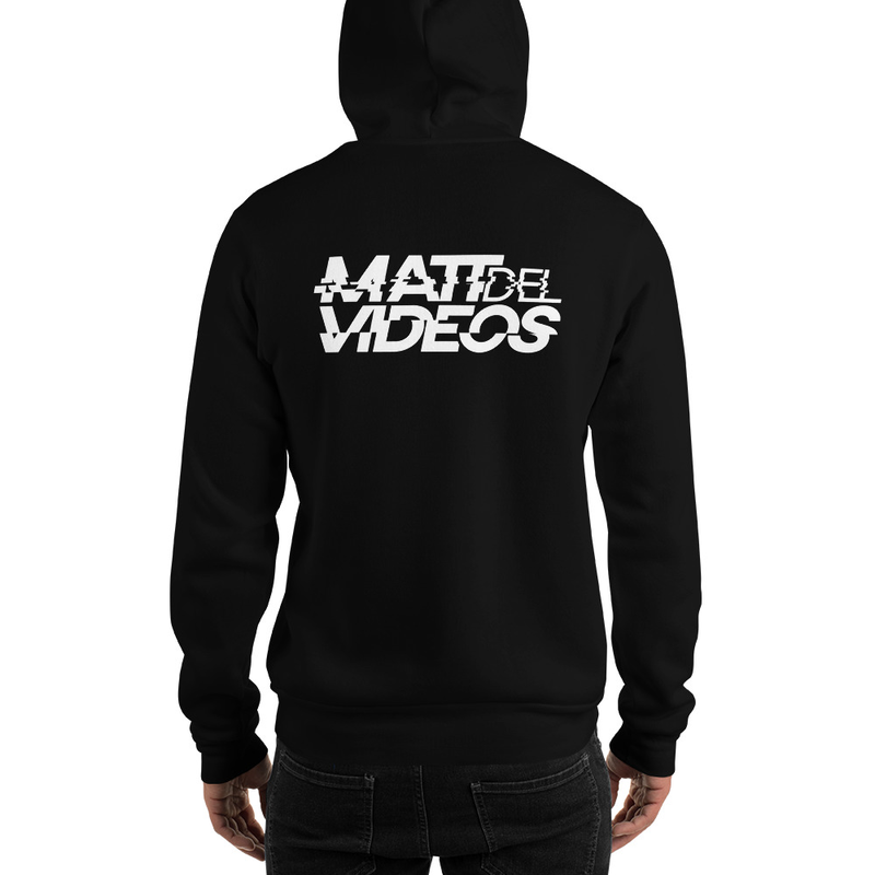 Image of MDV - Printed Hoodie - Super Warm (Black or Red)