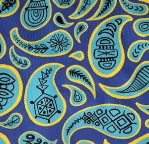 Image of Blue Paisley Tea Towel - FREE SHIPPING