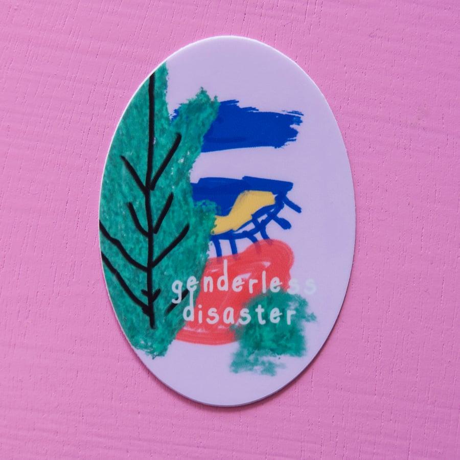 Image of Genderless Disaster Sticker