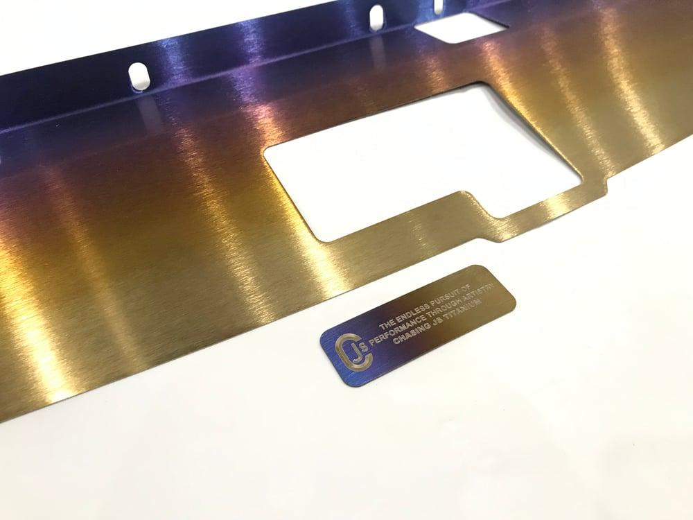 Nissan Skyline R32 GTR titanium cooling plate