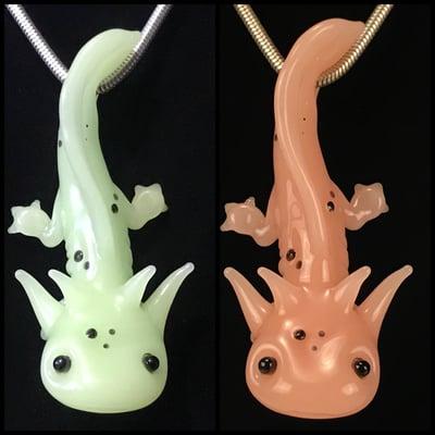 Image of Axolotl Pendant (yoshi)