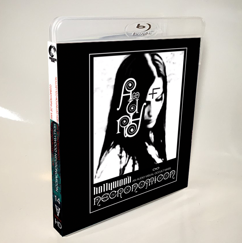 Image of HOLLYWOOD NECRONOMICON - LIMITED 33 SIGNED/STAMPED BLU-RAY-R + POSTER (DESIGN B)