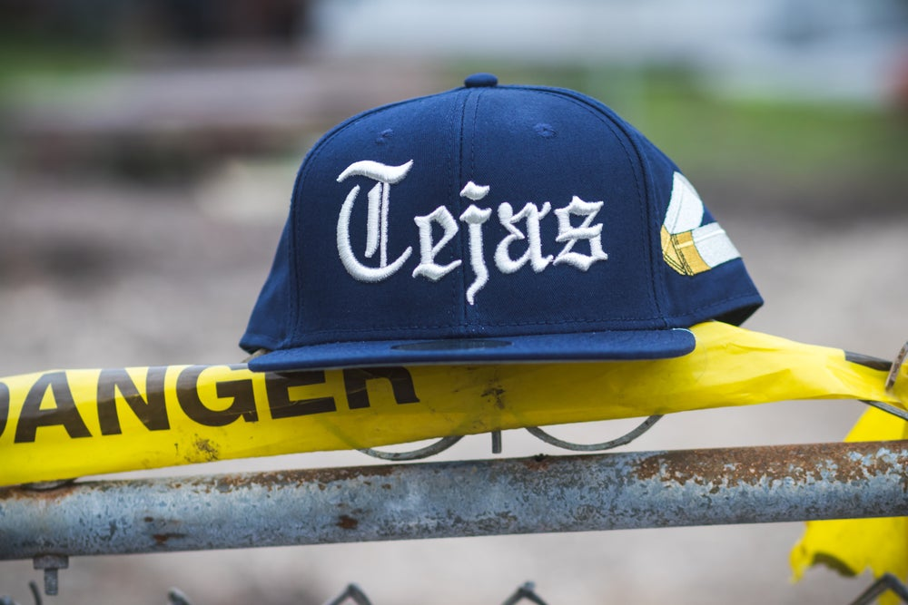 Image of Blue #Tejas SnapBack Caps