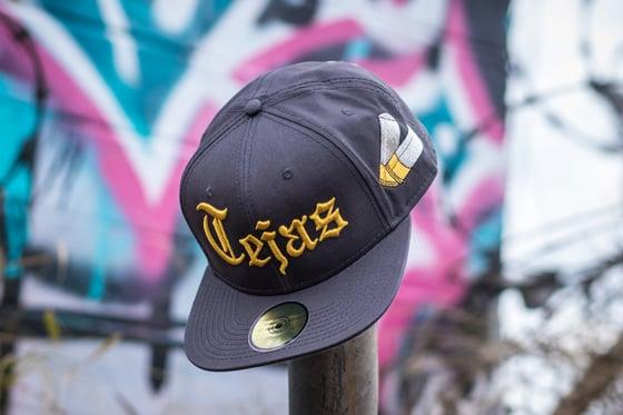 Image of Charcoal #Tejas SnapBack Cap