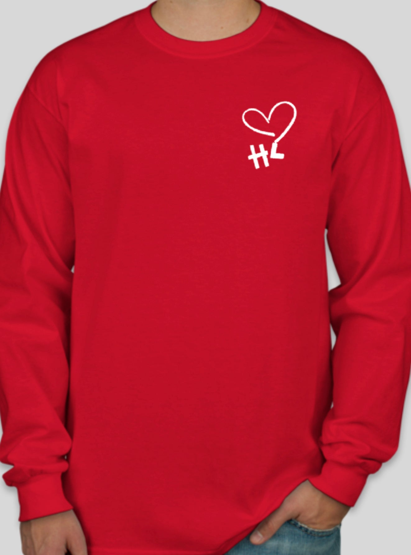 Image of Aloha from the Heart Long Sleeve (Adult)