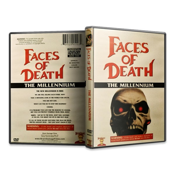 Image of Faces of Death: The Millennium (DVD)