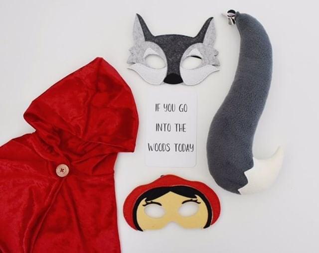 Image of Felt Animal Masks