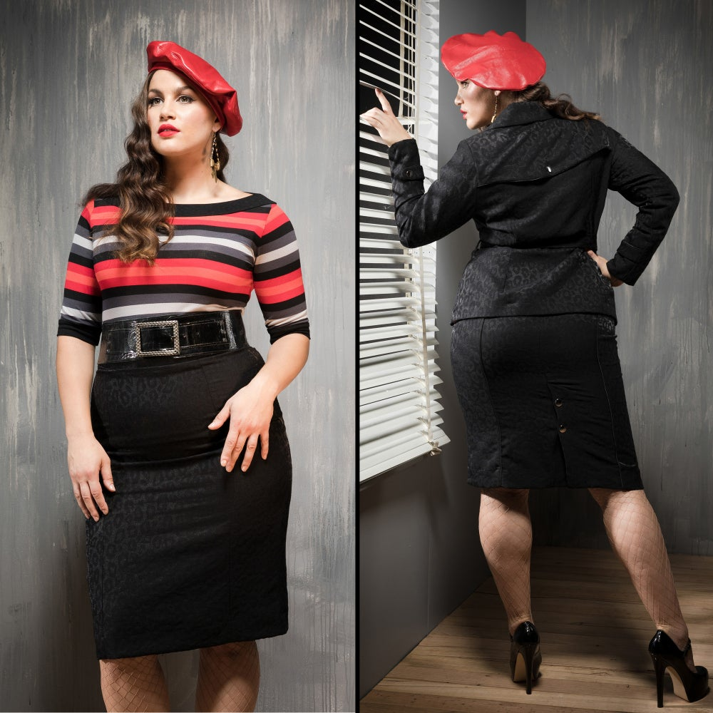 Image of MADAM SPY PENCIL SKIRT...