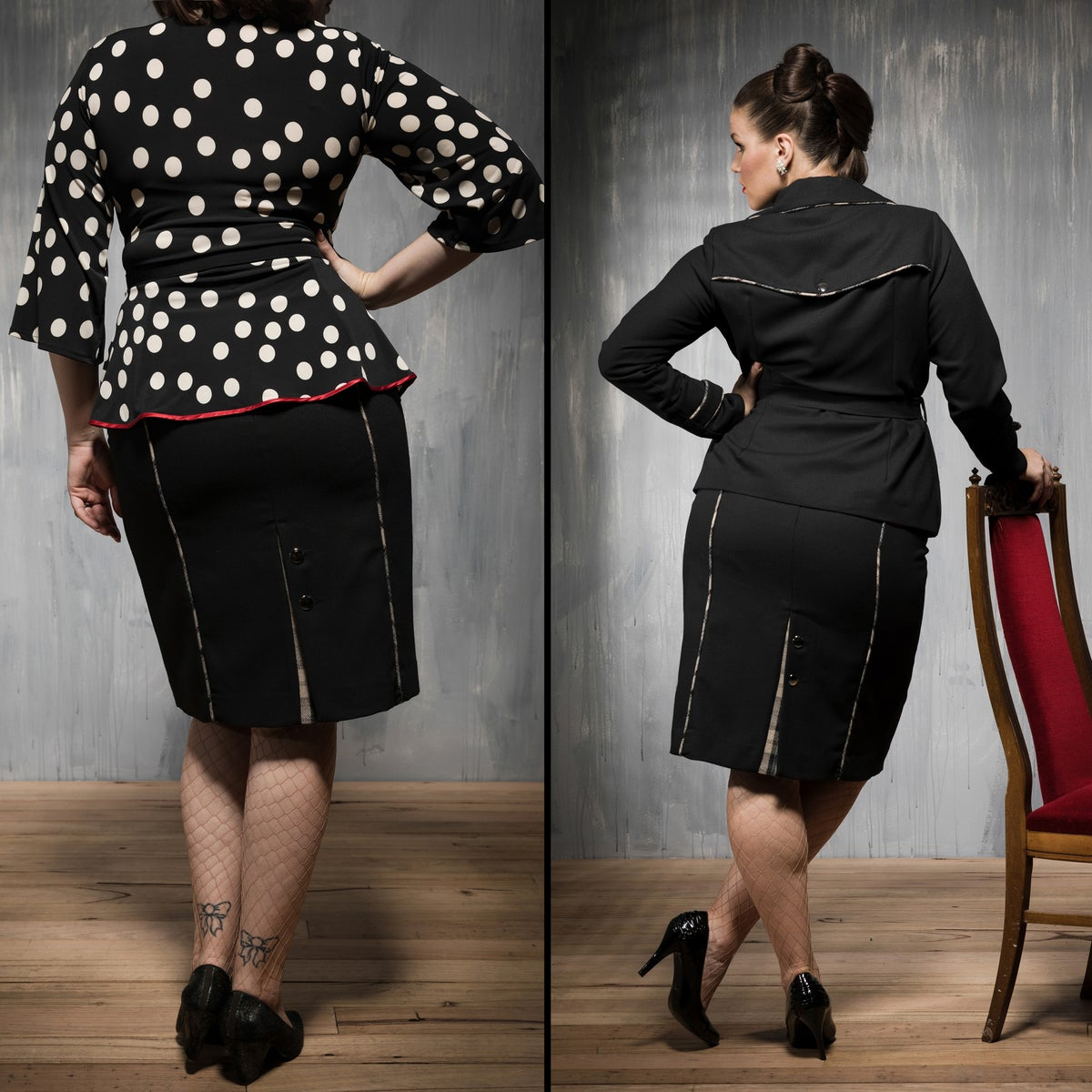 Image of MADAM SPY PENCIL SKIRT (other options available)