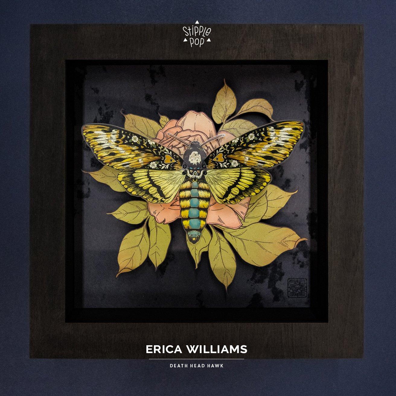 Image of Erica Williams - Death Head Hawk