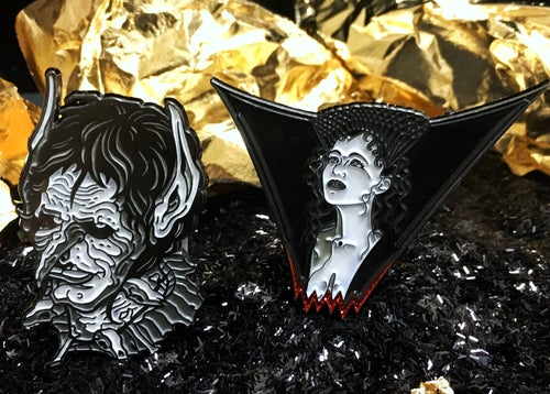 Image of What Is Light Without Dark? Pin Set