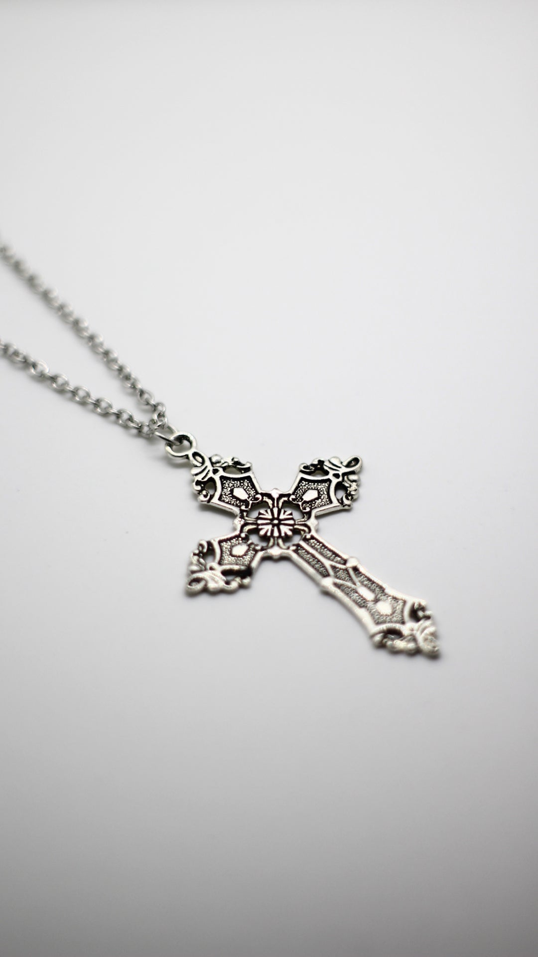 Image of Antique Cross Chain