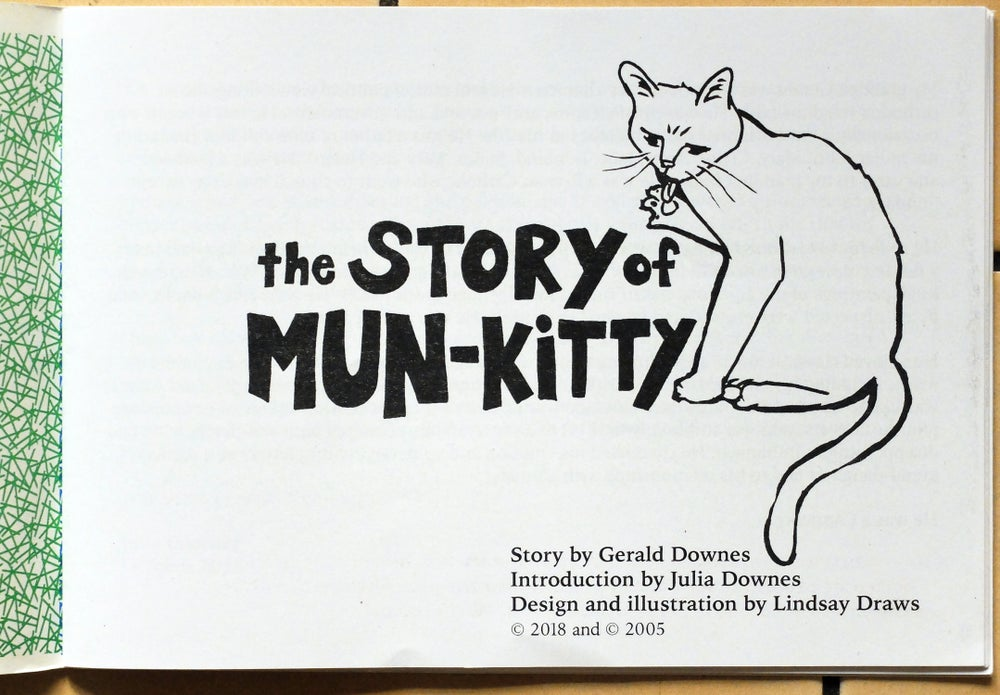 Image of The Story of Mun-kitty