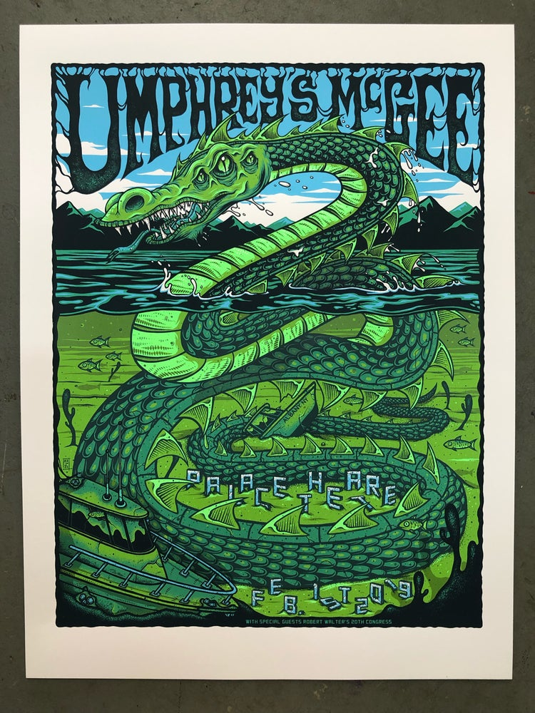 Image of Umphrey's McGee - February 1st, 2019 - Palace Theatre - Artist Edition
