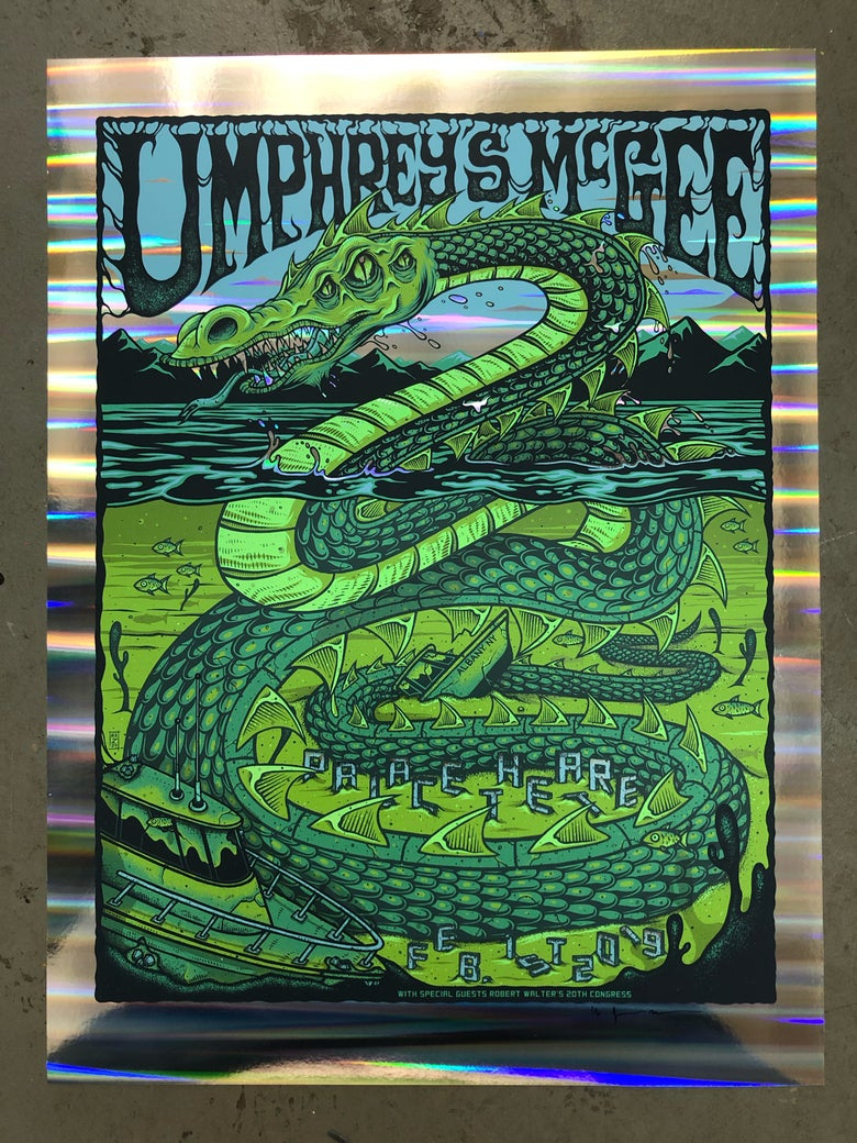 Image of Umphrey's McGee - February 1st, 2019 - Palace Theatre - Pillar Foil Edition