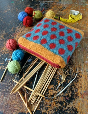 Image of Knit PDF - Knit It • Felt It • Zip It Bag Download